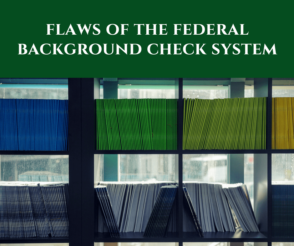 Flaws in the Federal B
