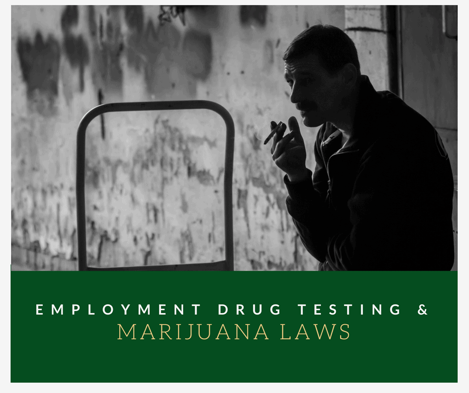 Drug testing and marijuana laws