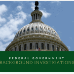 Federal government background investigations