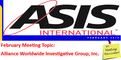 Mario presented on background investigation leglislative updates to ASIS International Security