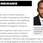Mario featured in Risk & Insurance Magazine