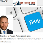 Best Practices to Prevent Workplace Violence