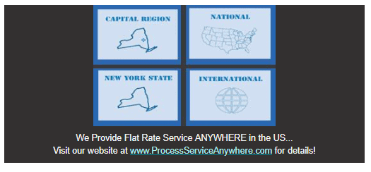 Flat Rate Process Service Anywhere