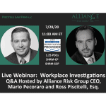 Workplace Investigations Webinar by Mario Pecoraro and Ross Piscitelli, Esq.